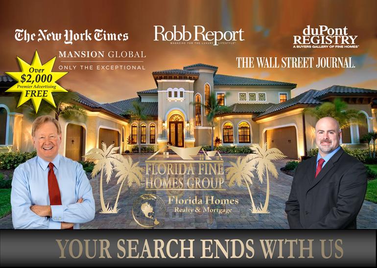 Florida's Fine Homes Group Luxury marketing image